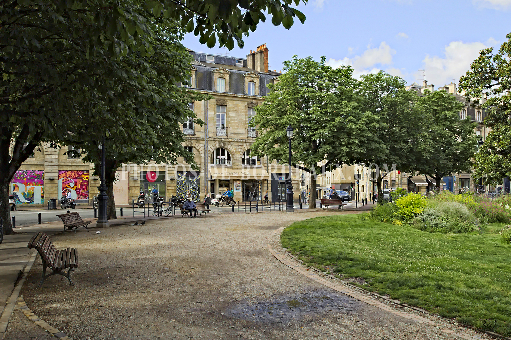 Place Gambetta - Rue Nancel Penard - Bordeaux