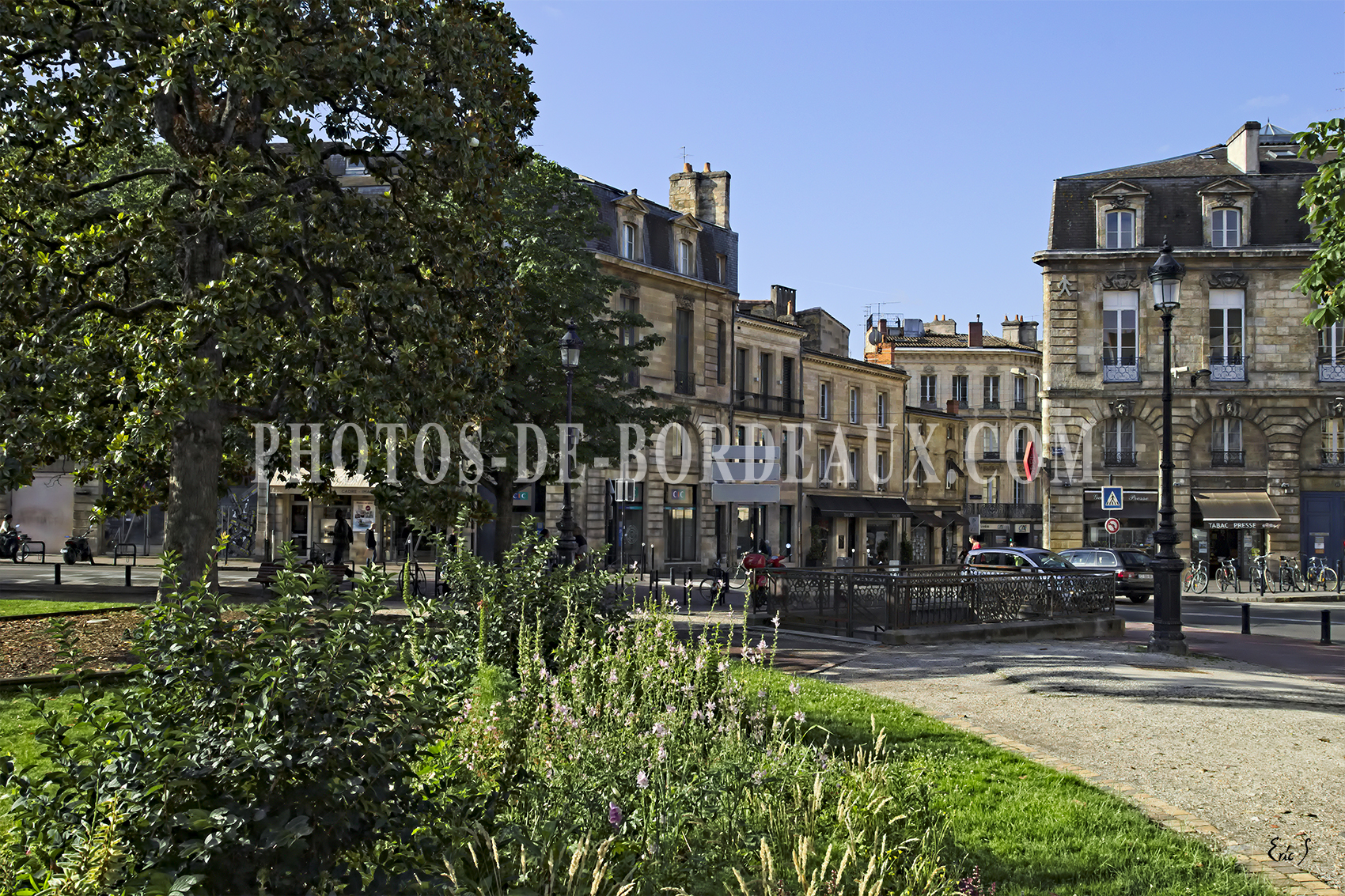 Place Gambetta - Rue Nancel Penard - Rue Georges Bonnac - Bordeaux